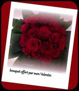 bouquet St Valentin