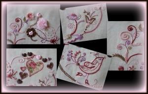 oiseaux et fleurs 3 a