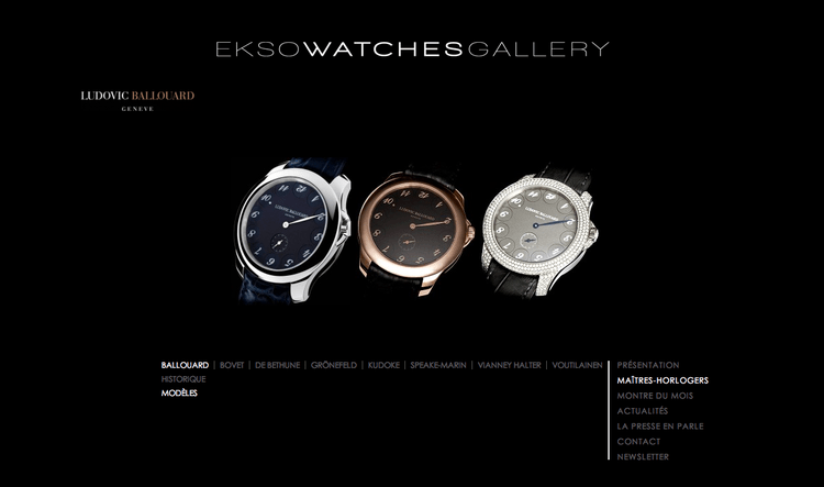 ekso watches gallery ludovic ballouard