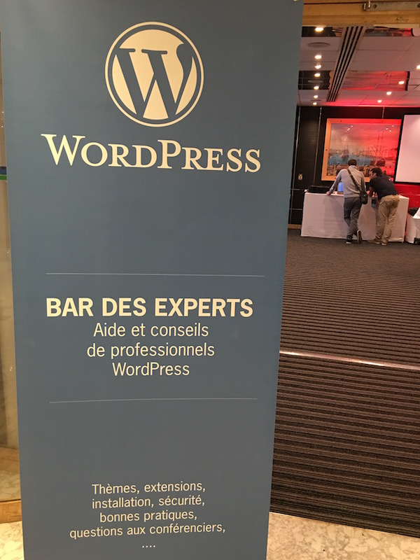 wordpress bar des experts wcparis2016