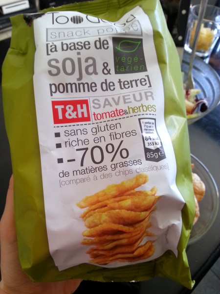Chips de soja Too Good