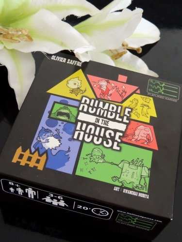 Jeu Rumble In The House : mon avis