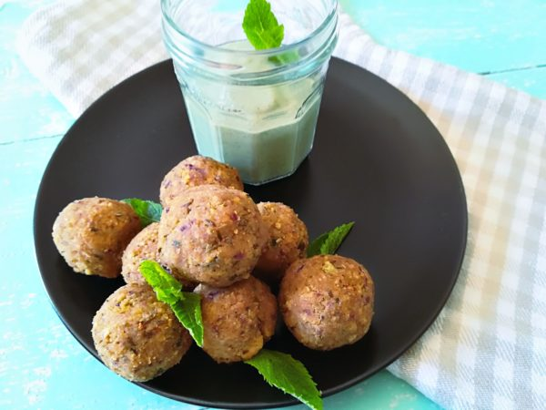 Kefta vegan au four