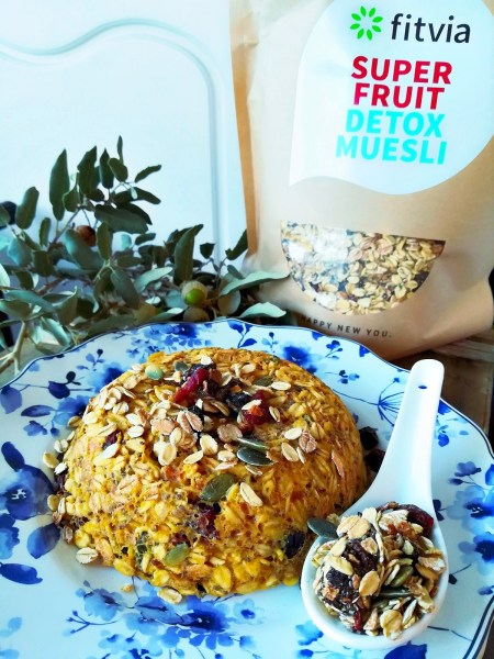 Bowl Cake au muesli Super Fruit FitVia