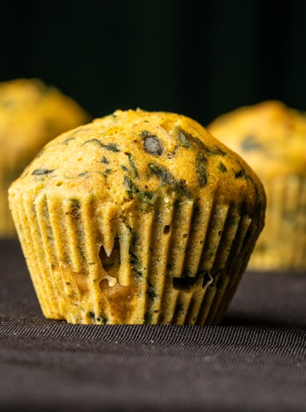 Muffins Green Power au Vitaliseur de Marion