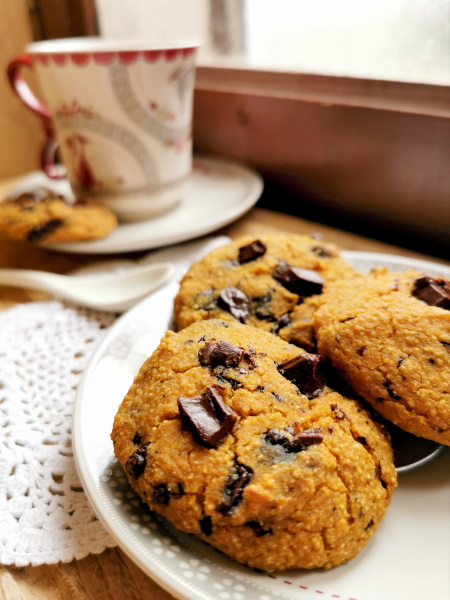 Cookies butternut choco, healthy et sans gluten