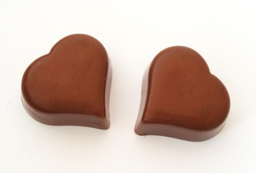Kärlek, chokladhjärtan