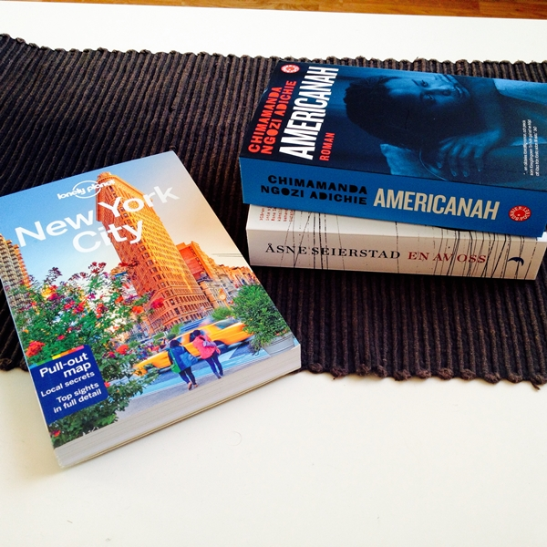En av oss, Americanah, Lonely Planet New York City