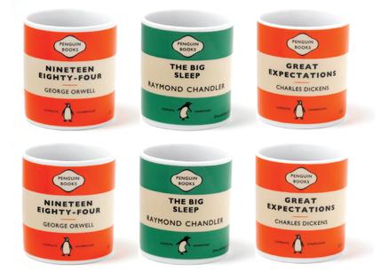 Penguin mug set