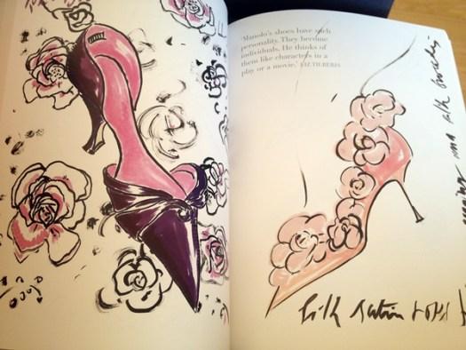 Manolo Blahnik drawings
