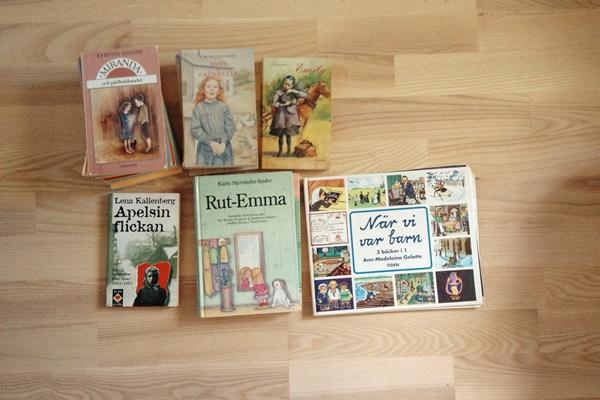 Rut-Emma, När vi var barn och några andra böcker om livet förr i tiden