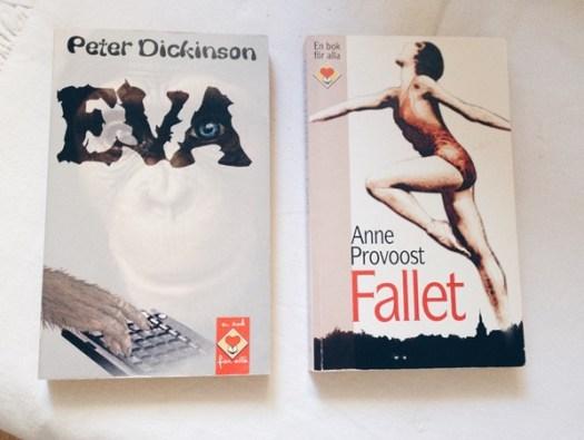 Eva av Peter Dickinson och Fallet av Anne Provoost