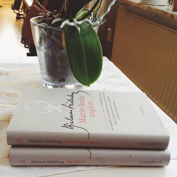 Några väldigt beige böcker av Hjalmar Söderberg