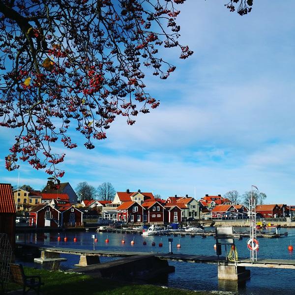 November - besöker Öregrund