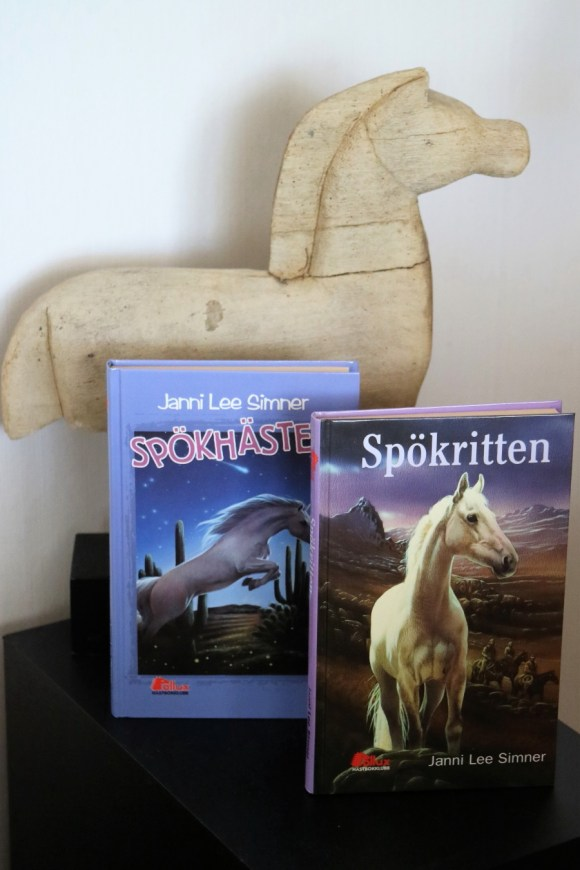 Spökritten och Spökhästen av Janni Lee Simner