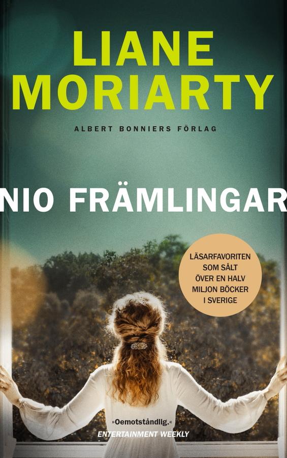 Nio främlingar av Liane Moriarty