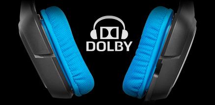 Dolby Koptelefoon 7.1 Surroundsound