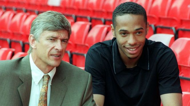 Legenda Thierry Henry, Sang Raja Meriam London
