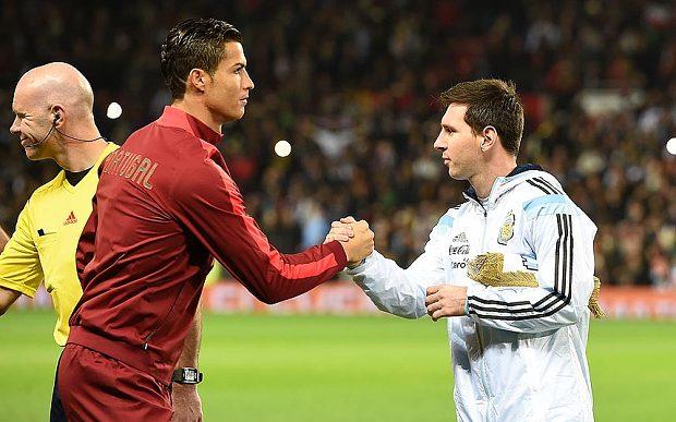 Ronaldo e Messi, dois exemplos de mentalidade  Fonte: telegraph.co.uk