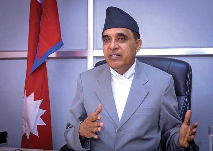 Balananda Paudel, National Natural Resources and Fiscal Commission