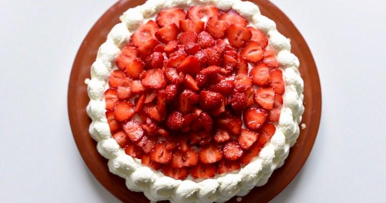 Midsommartårta
