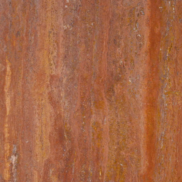 Red Travertine Bolder Panel