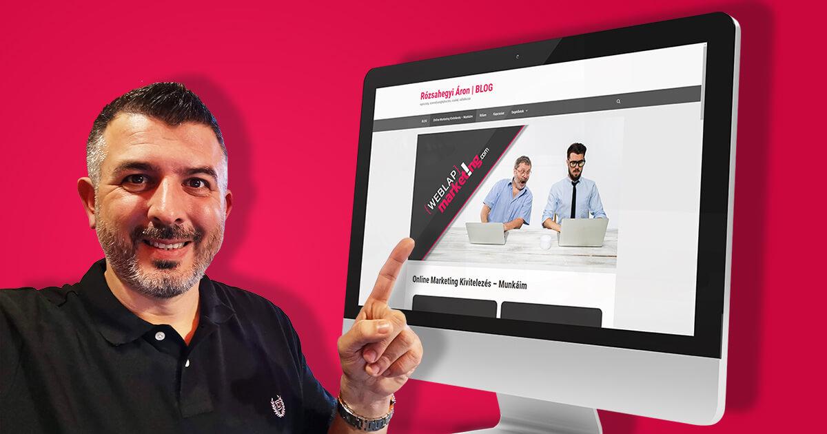 Rózsahegyi Áron weblapmarketing,com kész a responsive weblapom
