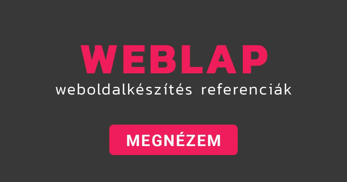 weblapkészítés referenciák Mohács