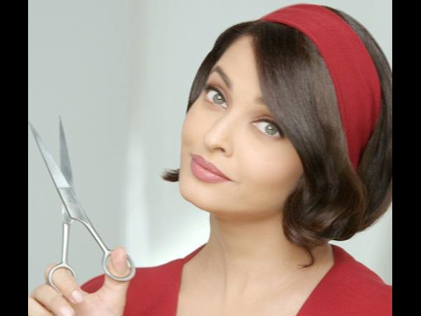 Aishwarya Rais New Bob Hairstyle For Commercial