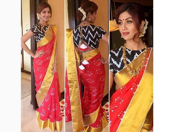 Shilpa Shetty Latest Traditional LookbookShilpa Shetty