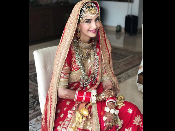 Bollywood Actresses Who Wore Red On Weddings