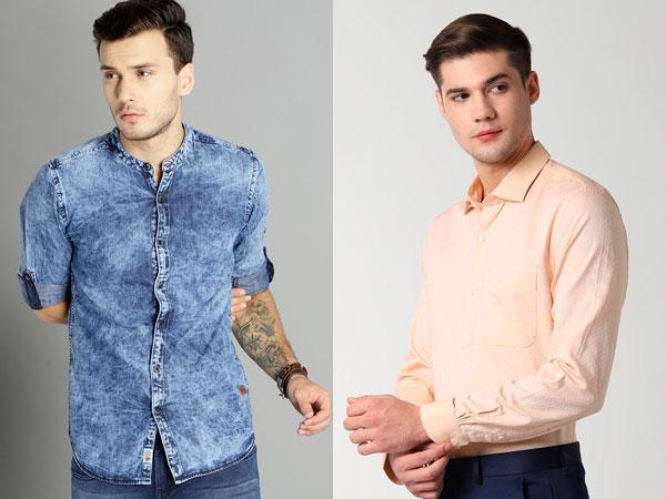 20 Blue Pant Combination Shirts For Men