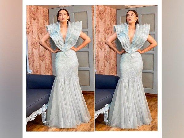 Gauahar Khan's Gown From Bigg Boss Promo