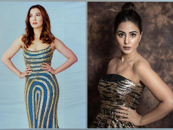 Hina Khan And Gauahar Khan's Gown From Bigg Boss 14