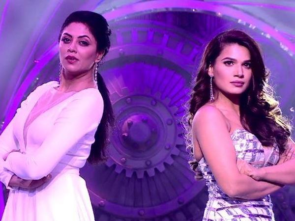 Naina Singh And Kavita Kaushik's Gown
