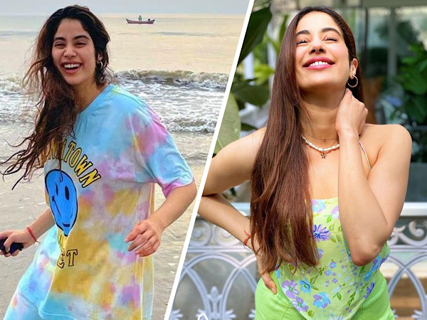 Janhvi Kapoor's Two Pretty Outfits