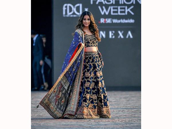 Hina Khan Ramp Walk