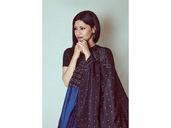 Girlistan - Konkona Sensharma's Ajeeb Daastaans Promotional Round Also Includes A Stunning Indigo Saree