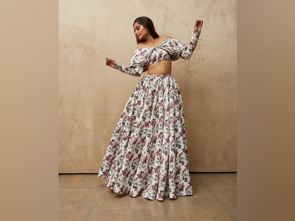 Sonam Kapoor In Floral Co-ords