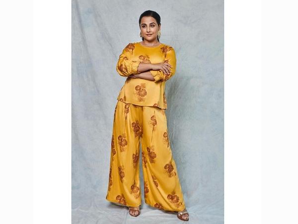 Vidya Balan Western Outfits