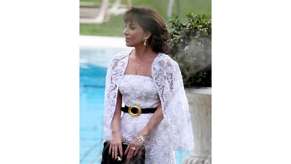 लेडी गागा के रूप में पैट्रिज़िया रेगियानी