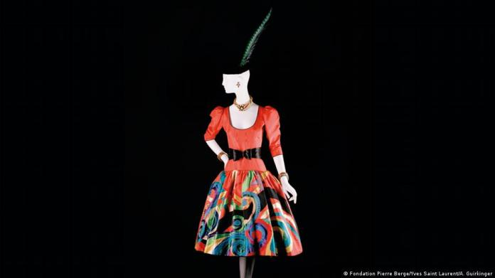 Marrying art and fashion: Saint Laurents work was influenced by Mondrian, Picasso and van Gogh