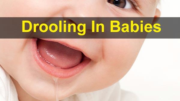 शिशुओं में लार टपकाने के बारे में सब कुछ