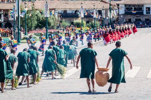 Inti Raymi Festivial In Cusco -20- June 2015