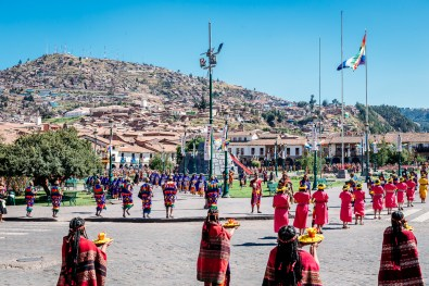 Inti Raymi Festivial In Cusco -21- June 2015