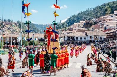 Inti Raymi Festivial In Cusco -27- June 2015