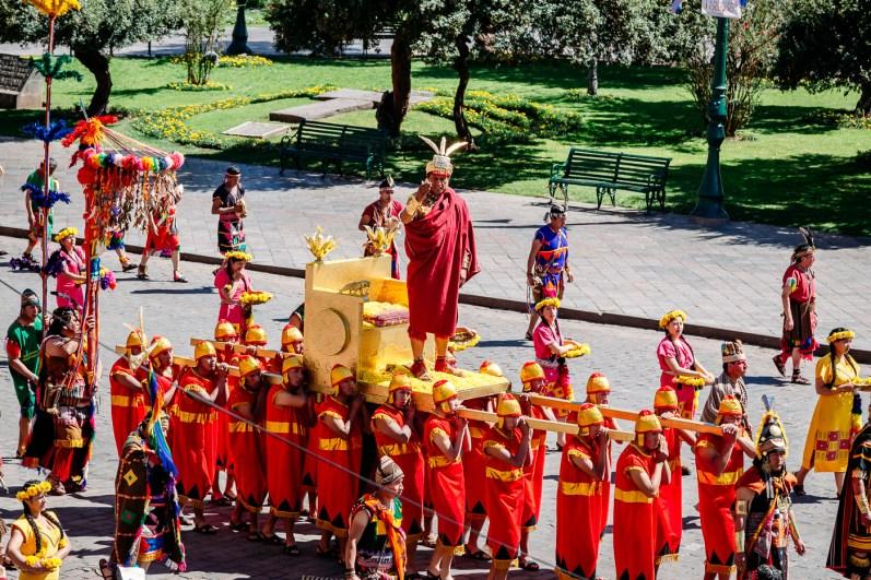 Inti Raymi Festivial In Cusco -37- June 2015
