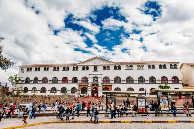 Cusco Peru -69- July 2015