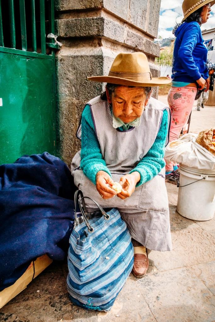 Cusco Peru -75- July 2015