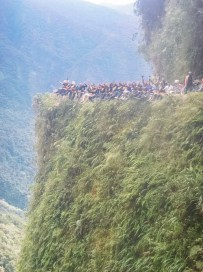 Death Road Biking Bolivia -26- July 2015